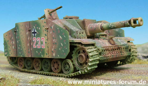 German Assault Howitzer Sturmhaubitze 42 Ausf. G, 1:72 ESCI Model Kit 8328