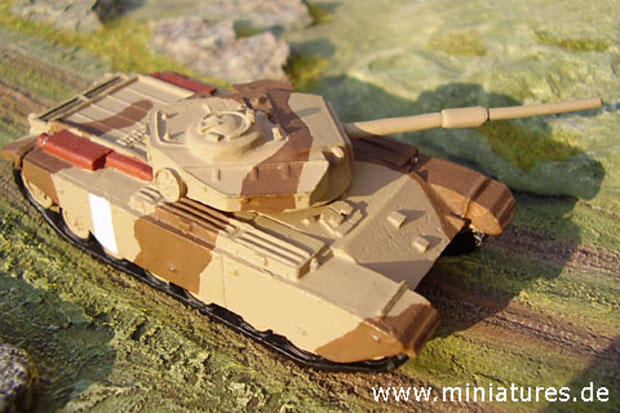 British F.V. 4007 Centurion Main Battle Tank