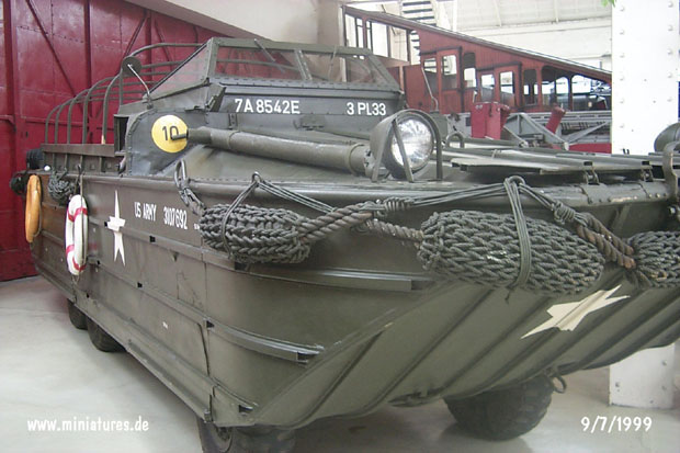 US-Army GMC DUKW-353, Technik-Museum Speyer, Germany