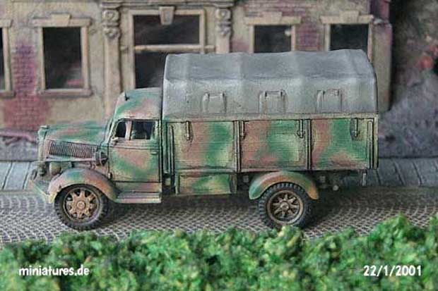 m.gl.Lkw. - Medium All-Terrain Truck Opel Blitz