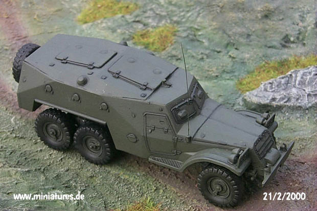 Soviet BTR-152.K Armoured Personnel Carrier with Armoured Roof