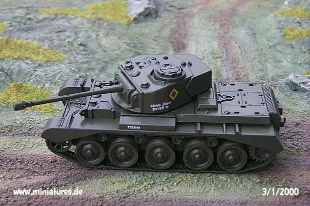 British A.34 Comet I Heavy Cruiser Tank, 1:76 Model Kit Matchbox 40072