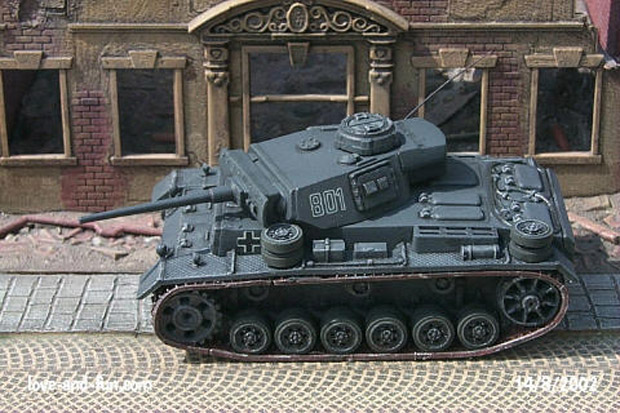 German Panzer III Ausf. L medium tank
