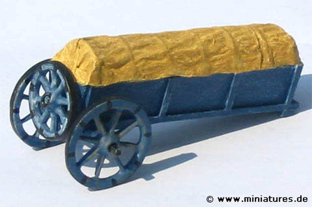 Scratchbuilt Prussian baggage wageon in 1:43 scale
