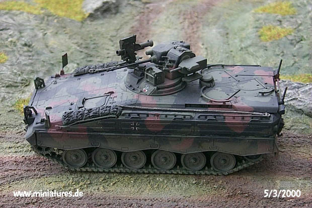 German Bundeswehr Schützenpanzer Marder 1A3 Infantry Fighting Vehicle, 1:72 Model Kit Revell 03113