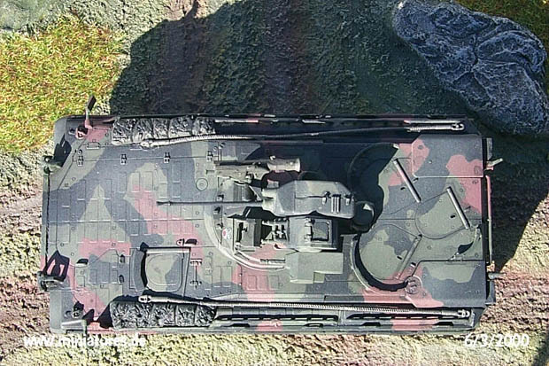 Marder 1A3 from above