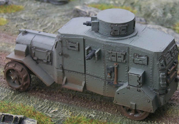 German Armoured Car E-V/4, Ehrhardt/17, 1:72 Model Kit Reviresco AC-23