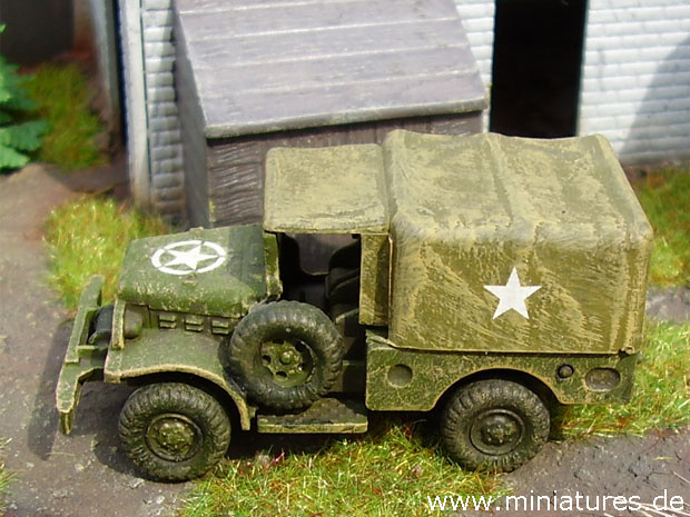 Dodge Weapons Carrier (Beep), 1:87 H0 Model Kit ROCO 252