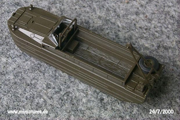 GMC DUKW-353 »DUCK« Amphibian, 1:87 H0 Model Kit ROCO 455