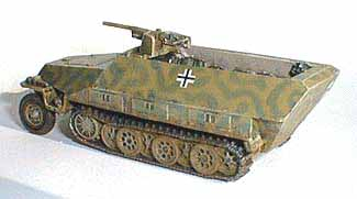 German Sd.Kfz. 251/10 Ausf. D Half-Track with 37 mm PaK, 1:76 Model Kit SMALL SCALE SSG11