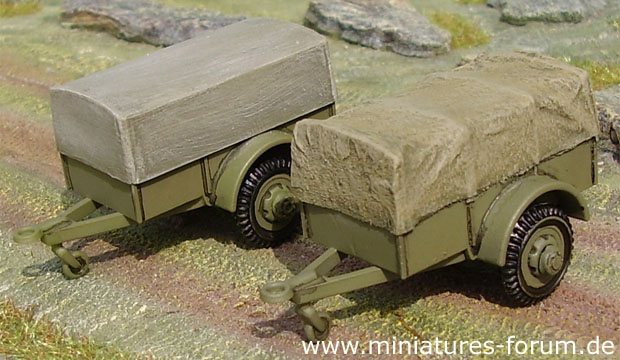 1-ton cargo trailer »Ben Hur« in British service