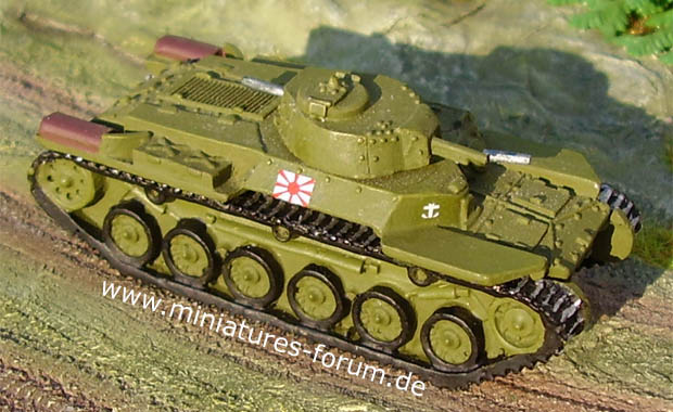 Japanese Chi-Ha (Type 97) Medium Tank, 1:87 World Tanks Depot 17