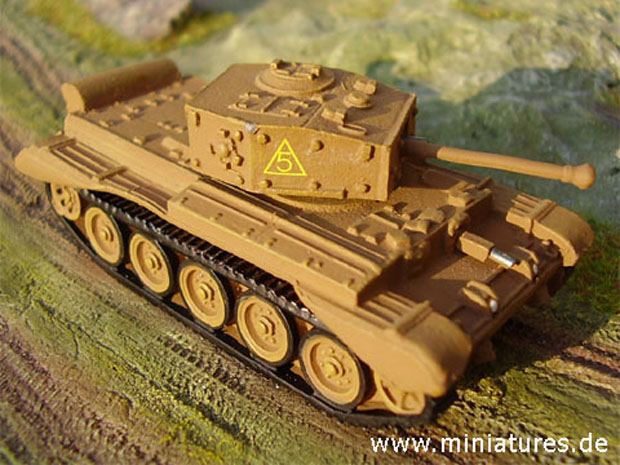 1:87 Scale World Tanks Depot A.27 Cromwell VII, Cruiser Tank Mk.VI
