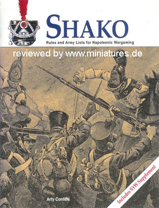 Shako – Rules and Army Lists for Napoleonic Wargaming by Arty Conliffe