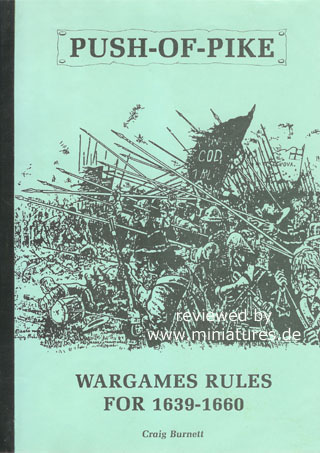 Push-Of-Pike – Wargame Rules for 1639–1660, by Craig Burnett