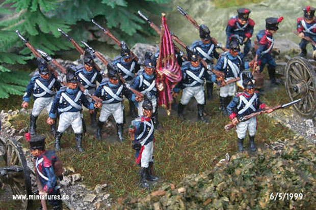 Wuerttemberg 5th Infantry Regiment, 1:76 Miniatures Airfix 01737